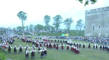 the folk dance festival 2000